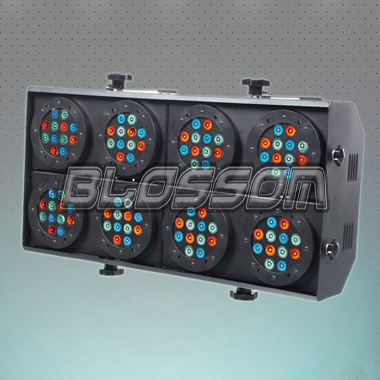 96*3W RGB LED Eight Eyes Audie...