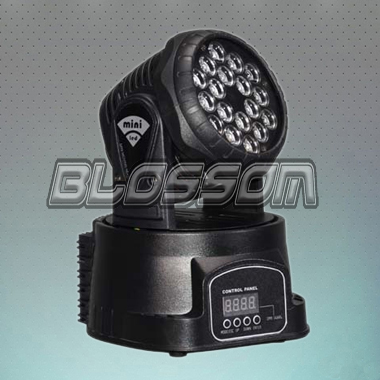 18*3W RGB LED Mini Moving Head...