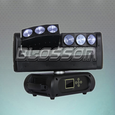 6*10W 4IN1 RGBW LED Moving Hea...