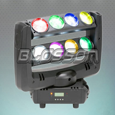8*10W RGBW 4IN1 LED Moving Head Spider Beam Light (BS-1049)