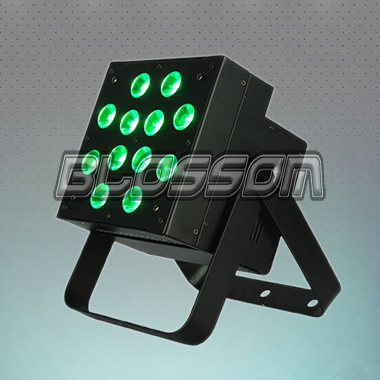 12*10W RGBAW 5IN1 LED Flat Par...