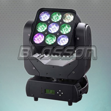 9*10W 4IN1 LED Moving Head Mat...