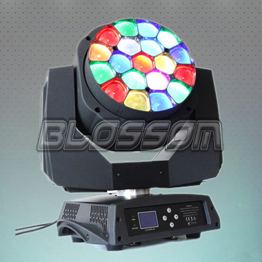 19*15W 4IN1 LED Moving Head Be...