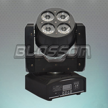 8*10W 4IN1 Double Head Mini LED Duplex Moving Head Wash Light (BS-1059)